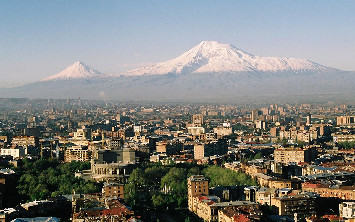 Armenien Ararat Yerevan