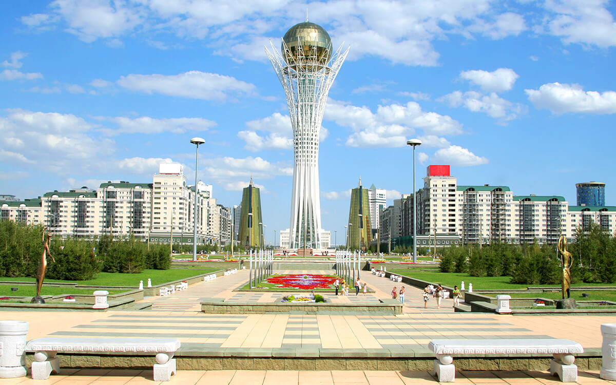 Kasachstan Bayterek Turm
