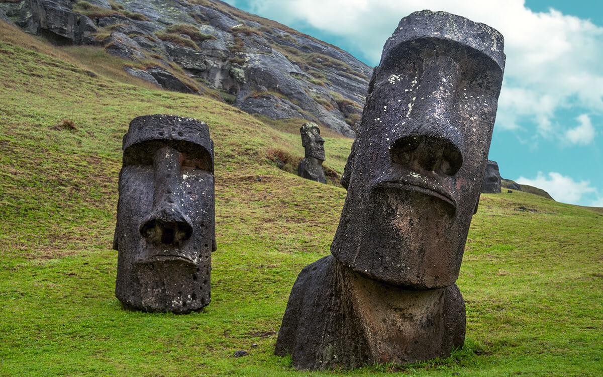 Osterinsel Moai