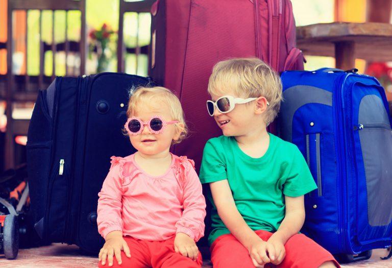 Familienautos und das Reisen mit Kindern