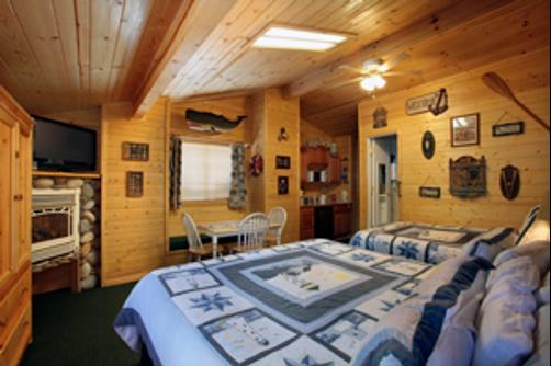 Fireside Lodge Bed and Breakfast - South Lake Tahoe - Schlafzimmer