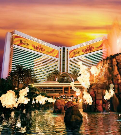 The Mirage - Las Vegas - Gebäude