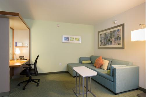SpringHill Suites by Marriott Columbia Downtown The Vista - Columbia - Schlafzimmer