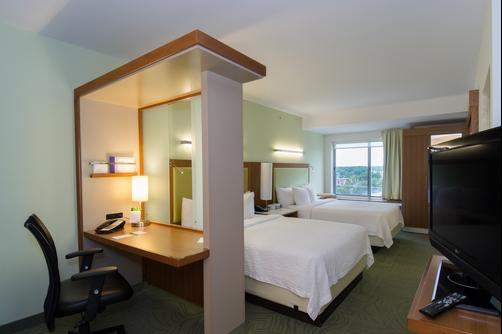 SpringHill Suites by Marriott Columbia Downtown The Vista - Columbia - Queen-Schlafzimmer