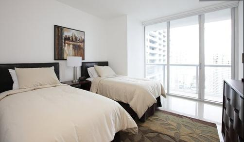 Sky City at Icon Brickell - Miami - Schlafzimmer
