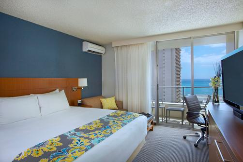 Hyatt Place Waikiki Beach - Honolulu - Schlafzimmer
