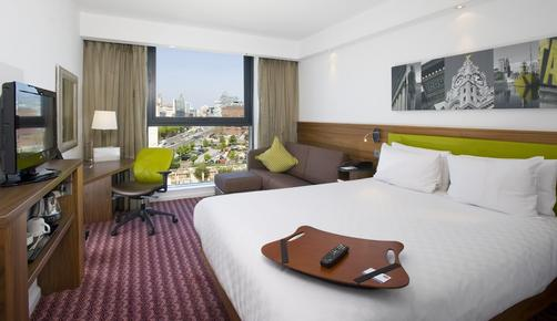 Hampton by Hilton Liverpool City Centre Hotel - Liverpool - Schlafzimmer