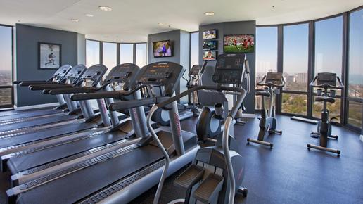 Eugenie Terrace - Chicago - Fitnessbereich