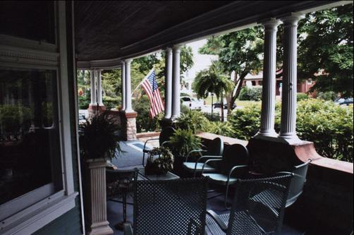 Greenhouse Bed & Breakfast - Chillicothe - Balkon