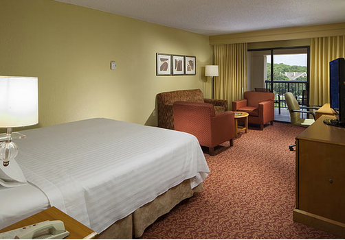 Courtyard by Marriott Orlando Lake Buena Vista in the Marriott Village - Orlando - Schlafzimmer