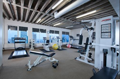 Hotel Le Cantlie Suites - Montreal - Fitnessbereich