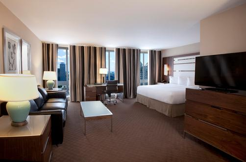 Hotel Le Cantlie Suites - Montreal - Schlafzimmer