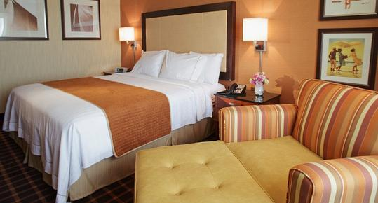 Courtyard by Marriott Atlantic City - Atlantic City - Schlafzimmer