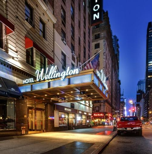 Wellington Hotel - New York - Gebäude