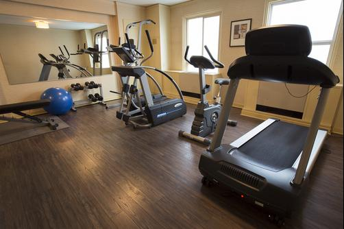 Executive Hotel Pacific - Seattle - Fitnessbereich